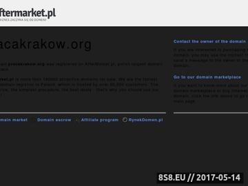 Zrzut strony Praca Kraków