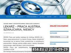 Miniaturka domeny pracamedycyna.pl