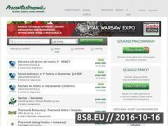 Miniaturka domeny www.pracawgastronomii.pl