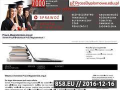 Miniaturka domeny www.prace-magisterskie.org.pl