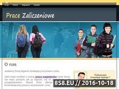 Miniaturka domeny pracezaliczeniowe.pl