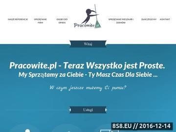 Zrzut strony Serwis sprzątający Warszawa zadba o Twój dom