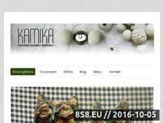 Miniaturka domeny www.pracownia-kamika.pl