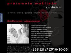 Miniaturka domeny www.pracowniamakijazu.pl