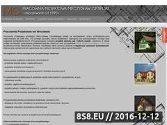 Miniaturka domeny www.pracowniaprojektowawroclaw.pl