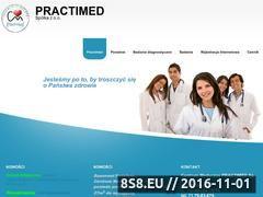 Miniaturka domeny practimed.com.pl