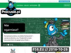 Miniaturka domeny pracusie.pl