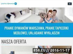 Miniaturka domeny www.pralnia-dywanow.pl