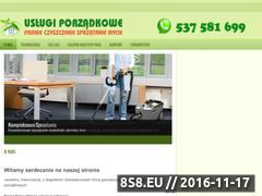 Miniaturka domeny www.pranie-wykladzin.wroclaw.pl