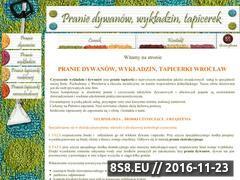 Miniaturka domeny www.pranie.wroclaw.pl