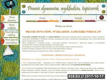Zrzut strony Pranie tapicerki Wrocław