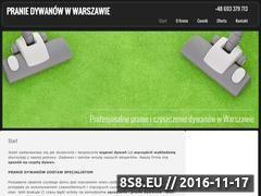 Miniaturka domeny praniedywanow-w-warszawie.pl