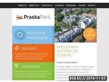 Zrzut strony Osiedle Praska Park