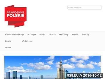 Zrzut strony Polskie firmy