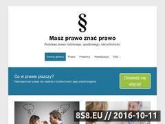 Miniaturka domeny prawnicza.edu.pl