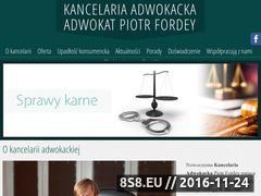 Miniaturka domeny prawnik-bielsko.com