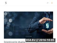 Miniaturka domeny prawnik-lodz.com.pl