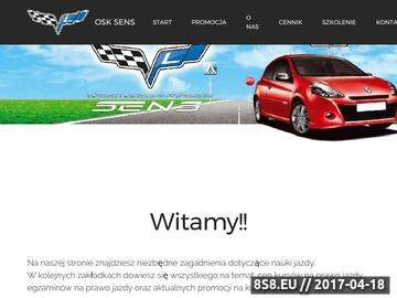 Zrzut strony Prawo jazdy Kalisz | OSK SENS | Nauka jazdy Kalisz