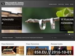 Miniaturka domeny prawokanoniczne.org