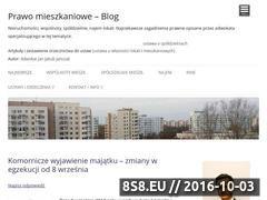 Miniaturka domeny prawomieszkaniowe.com