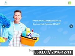 Precious Cleaning Services - Professional Cleaners Website