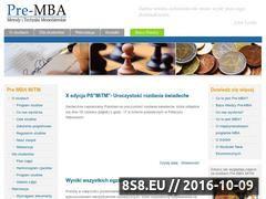 Miniaturka domeny premba-mitm.sggw.pl