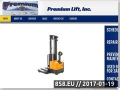 Thumbnail of Premium Lift, Inc. Website