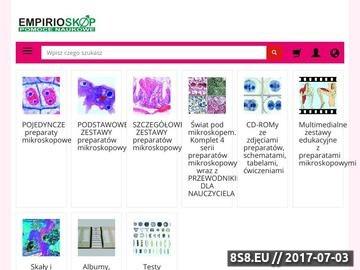 Zrzut strony Mikroskopy