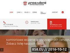 Miniaturka domeny pres-i-dent.pl