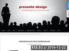 Miniaturka domeny www.presente.pl