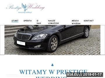Zrzut strony Organizacja wesel, auta ślubne
