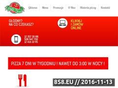 Miniaturka domeny www.presto-pizza.pl