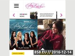 Thumbnail of Pretty Little Liars Website