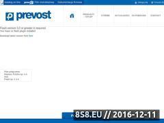 Miniaturka domeny www.prevost.pl