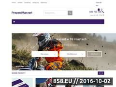 Miniaturka domeny prezent-marzen.pl