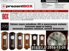 Miniaturka domeny www.prezentbox.pl
