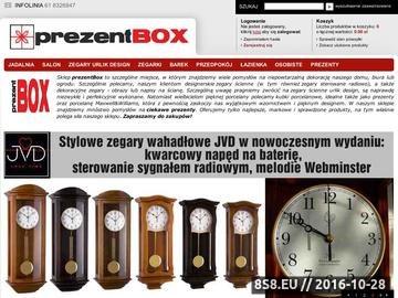 Zrzut strony Kubki porcelanowe, zegary ścienne oraz upominki