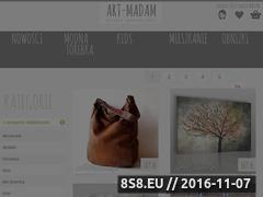 Miniaturka domeny prezenty-swiateczne.art-madam.pl
