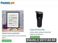 Miniaturka domeny www.prezenty.pro