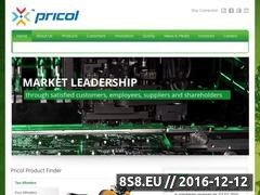 Thumbnail of Automotive Parts manufacturers for OEMs - Pricol Website