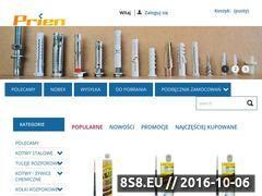 Miniaturka domeny www.prien.pl