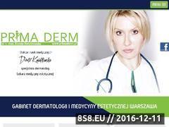 Miniaturka domeny primaderm.pl