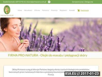 Zrzut strony Olejki do masażu