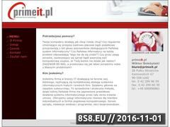 Miniaturka domeny www.primeit.pl