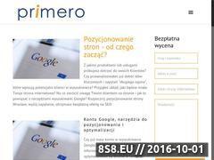 Miniaturka domeny www.primero.pl