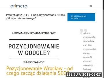 Zrzut strony Pozycjonowanie Wrocław