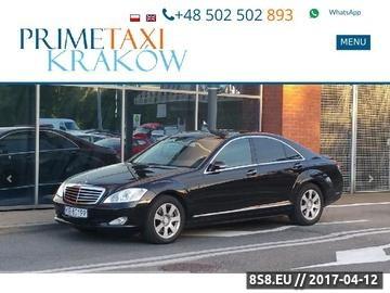Zrzut strony Auto do ślubu Kraków