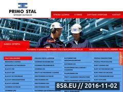 Miniaturka domeny www.primostal.pl