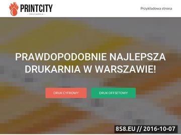 Zrzut strony Drukarnia cyfrowa Warszawa, druk cyfrowy - szybki druk Warszawa