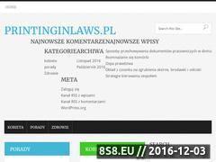 Miniaturka domeny printinginlaws.pl